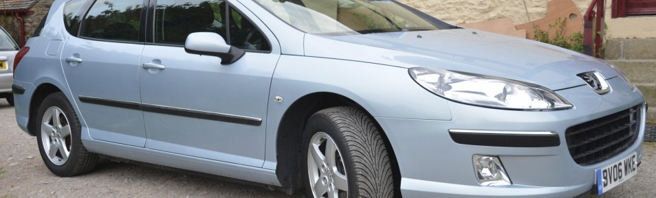 2006 PEUGEOT 407 1.6 HDI 110 SE SW ++PANORAMIC SUNROOF++