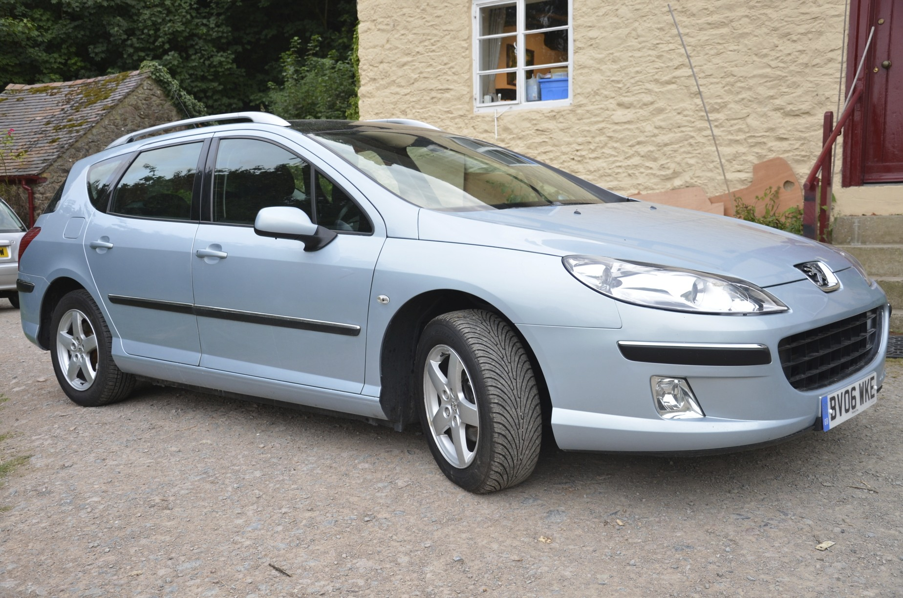 2006 peugeot 407 1 6 hdi 110 se sw panoramic sunroof. Black Bedroom Furniture Sets. Home Design Ideas